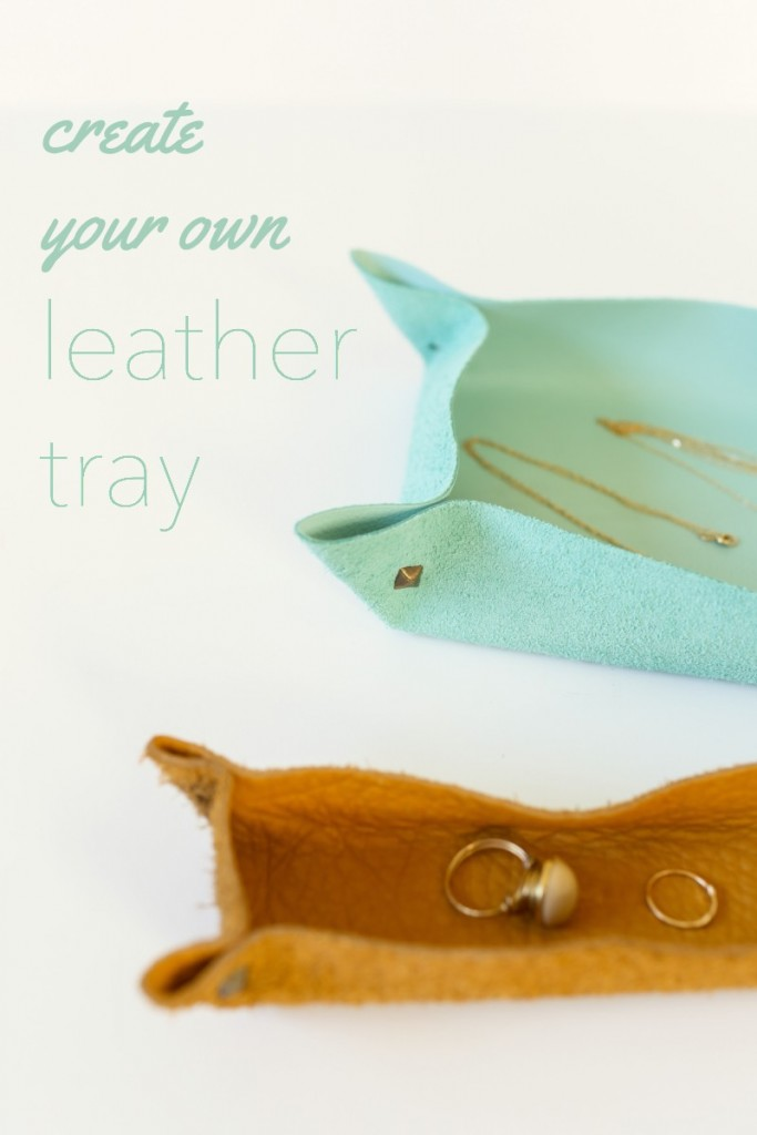 Create your own leather tray. The Dempster Logbook.
