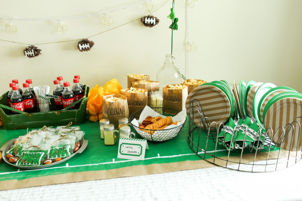 Create the ultimate football party!
