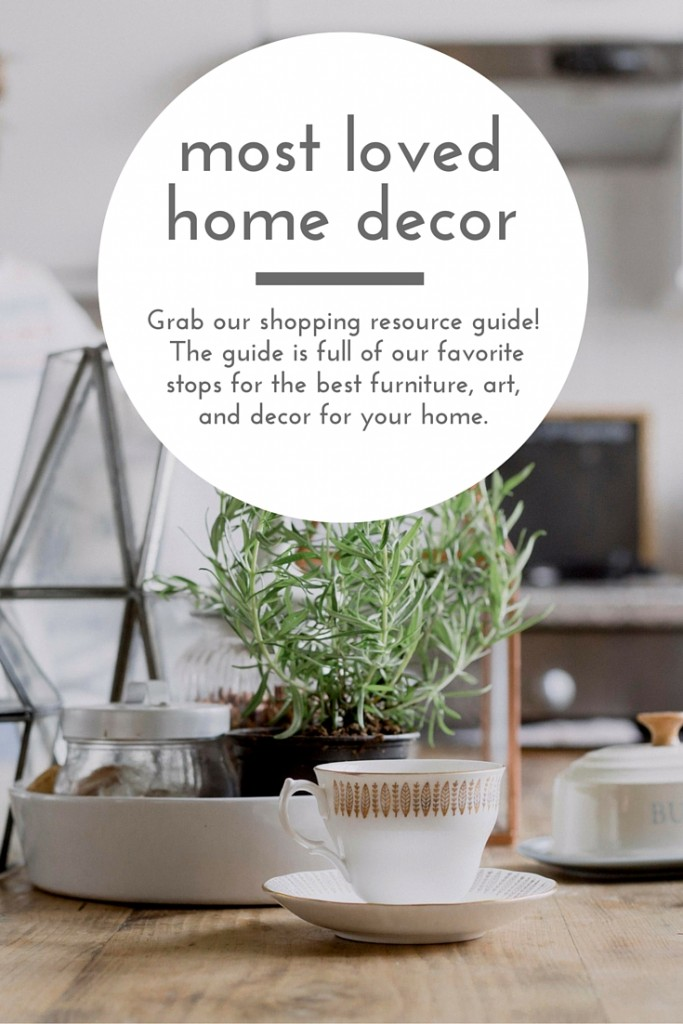 The best of the best places to shop online for home decor, furniture and art. Grab your copy of the home decor shopping guide! homestead128.com