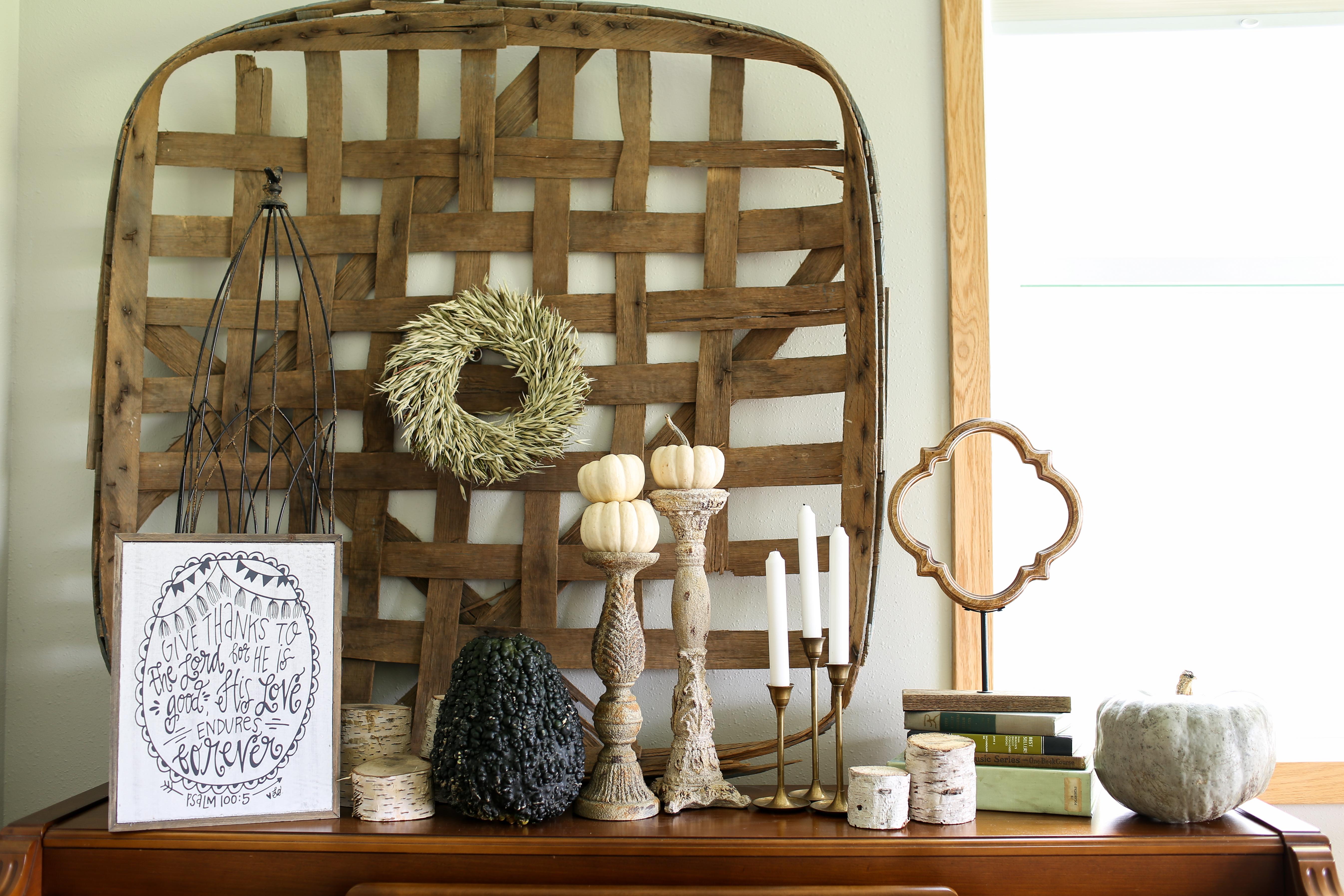 Farmhouse Decorating Ideas Pinterest: Fall Decor Ideas For The Rustic Farmhouse