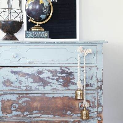 Distressed Painted Furniture – Inspired By Balayage