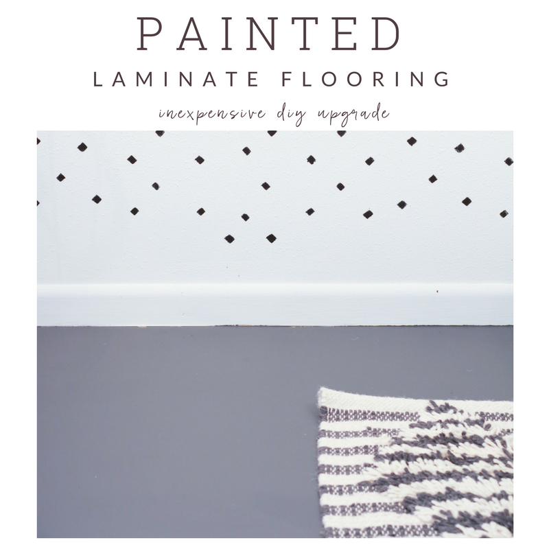 How To Paint A Laminate Floor
