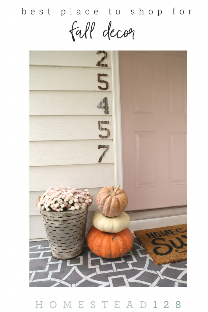 Best places to shop for fall time decor.