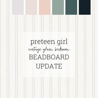 Preteen Vintage Glam Bedroom: ORC Update 6