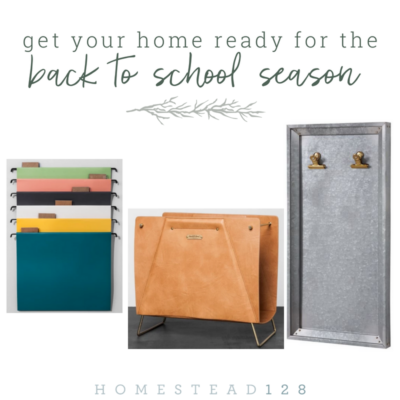 Prepare Your Home For The Back To School Season