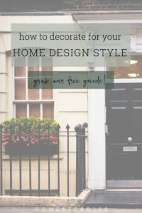 Decorate your house like a pro with our free home design style guide, covering four trending design styles: farmhouse, industrial, scandinavian & mid-century modern.