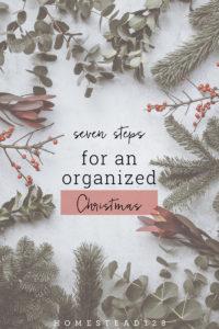 Plan ahead this Christmas and enjoy the season!