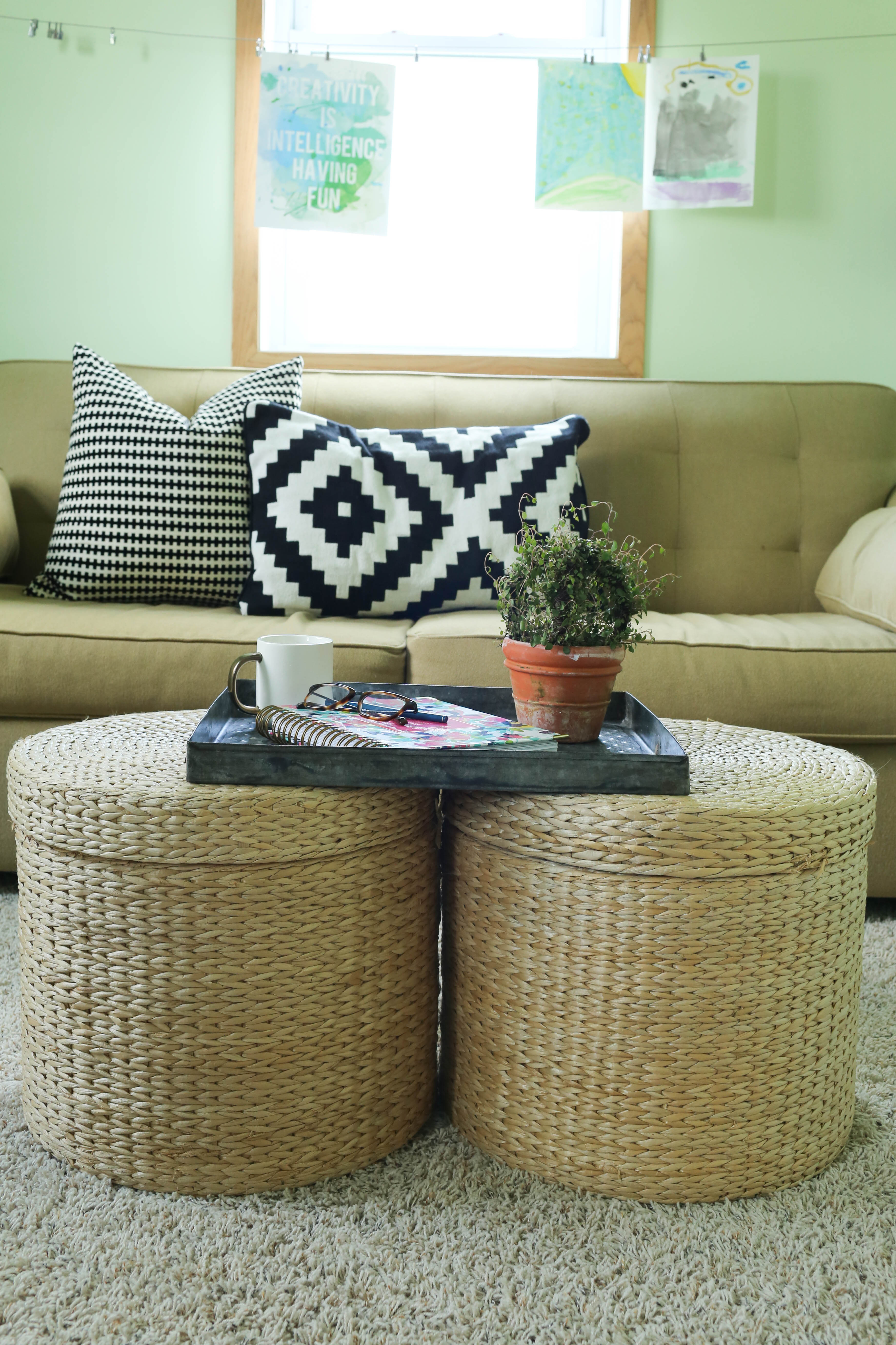- Coffee Table Solution - Small Spaces