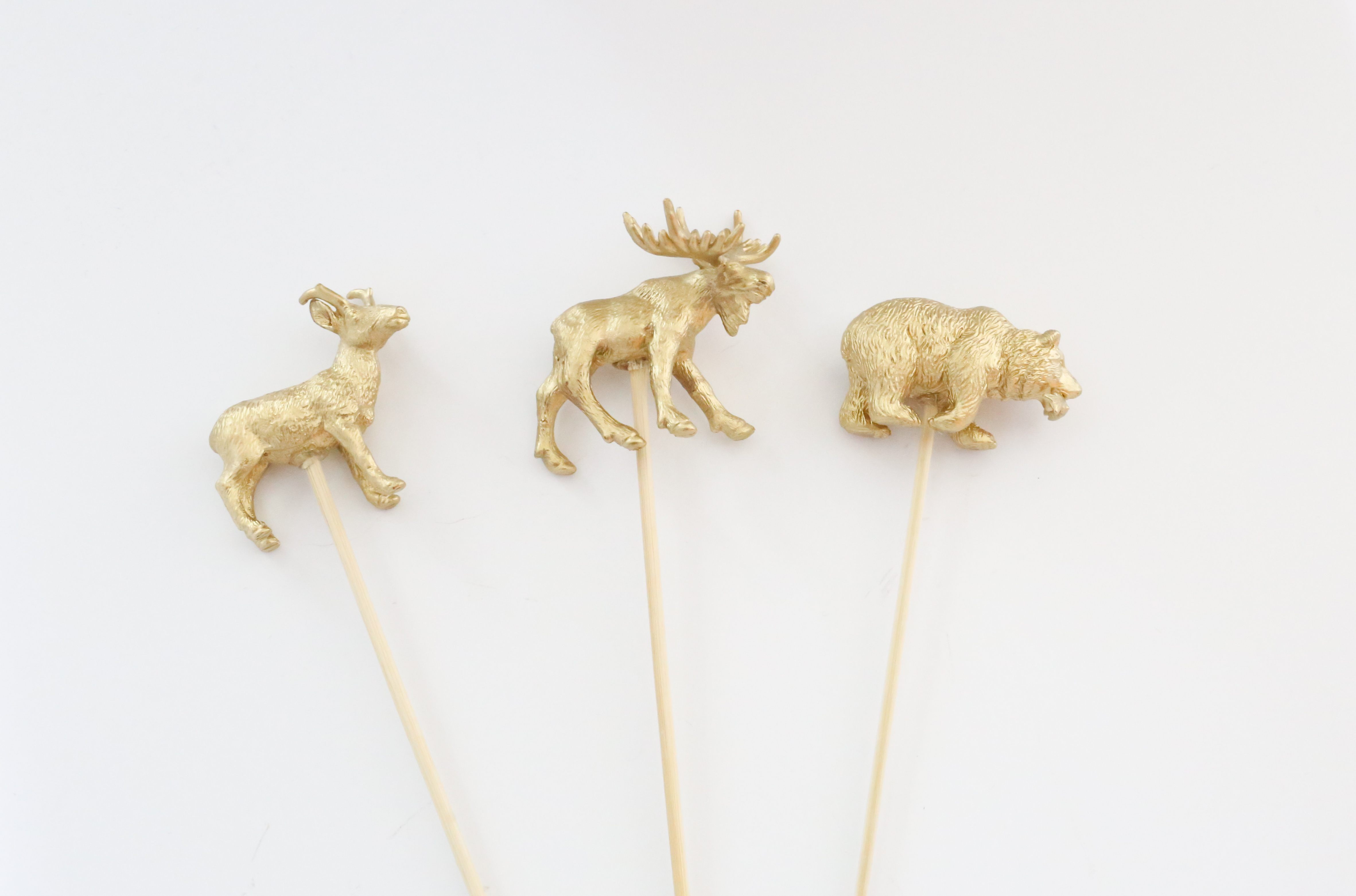 DIY Animal Cake Toppers