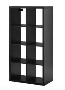 Updating the basic Ikea cube bookshelf. Ikea bookshelf hack. homestead128.com
