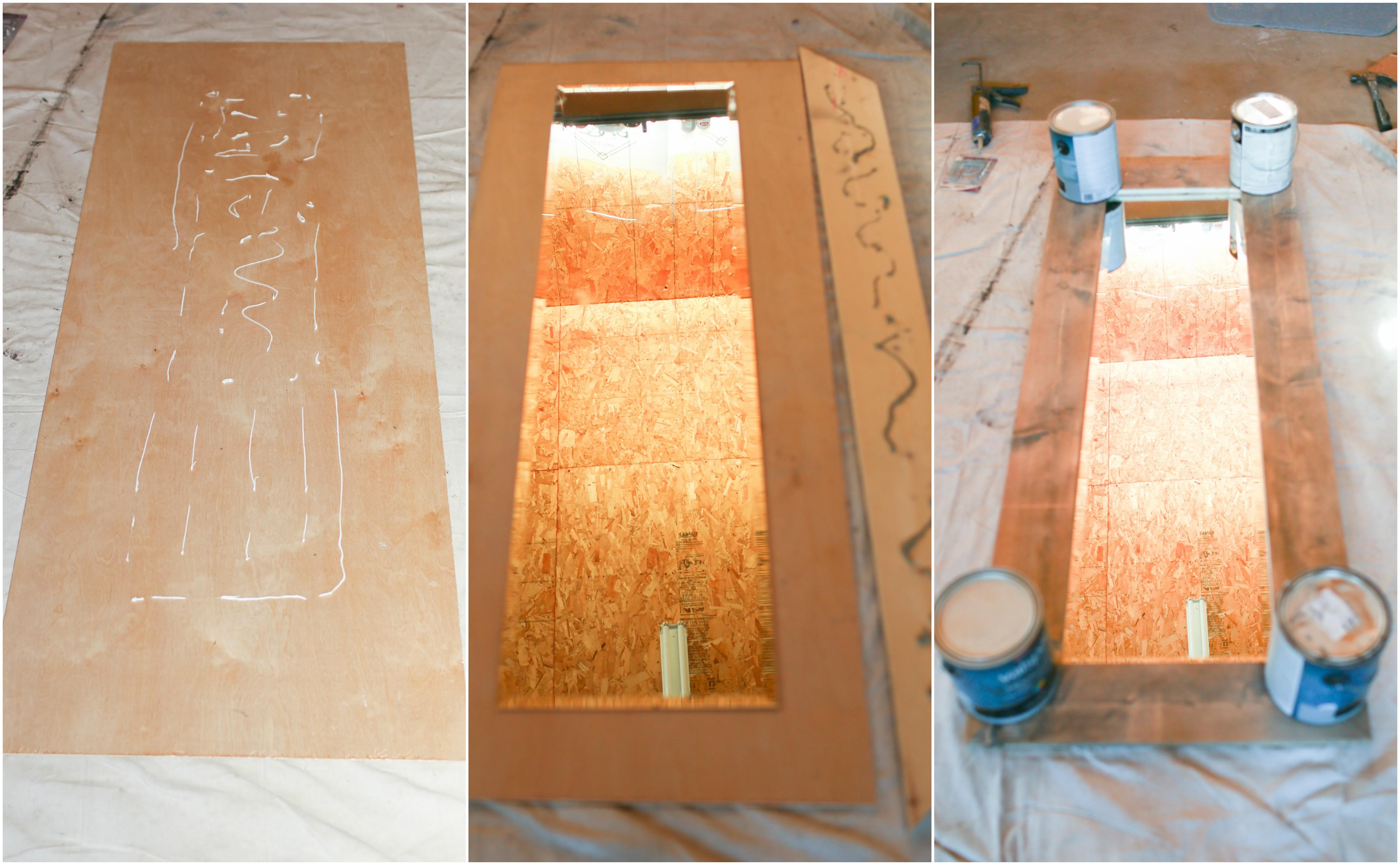 Large Farmhouse Floor Mirror Diy In 5 Steps