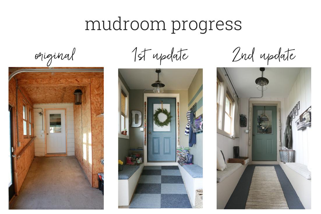 mudroom progress