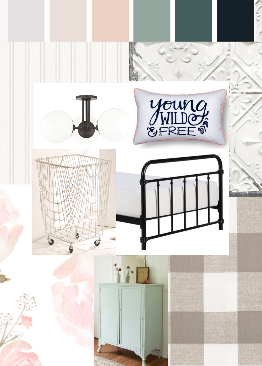 preteen vintage glam bedroom