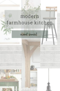 Room for everyone and everything in this modern farmhouse kitchen.