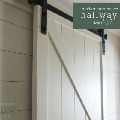 Updating The Farmhouse Hallway