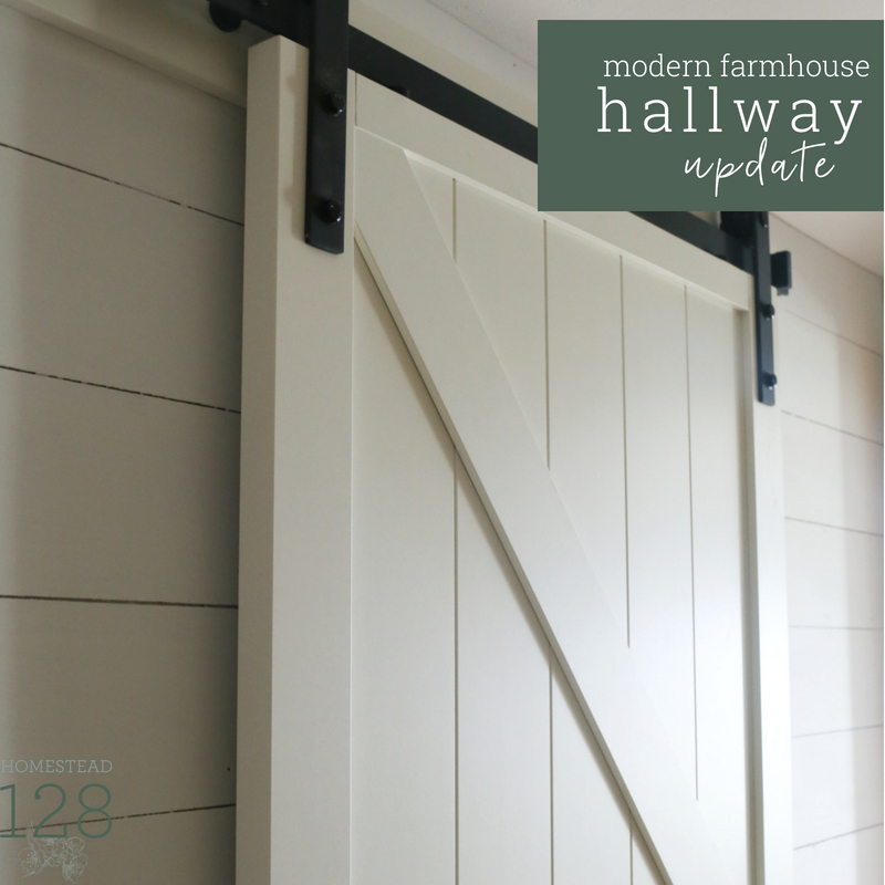 Updating The Farmhouse Hallway