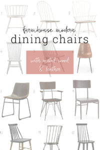 The chicest dining rom chairs you can buy online.