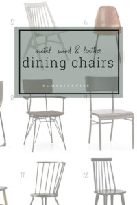Dining chairs that can bring style to any space.