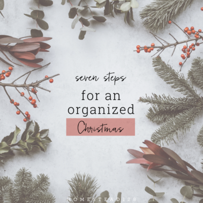 Seven Tips For Staying Organized This Christmas
