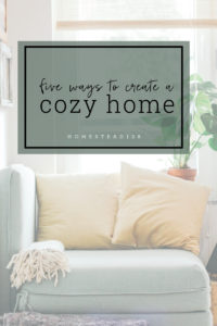 Adding layers of fabric in your home to create a cozy living space.