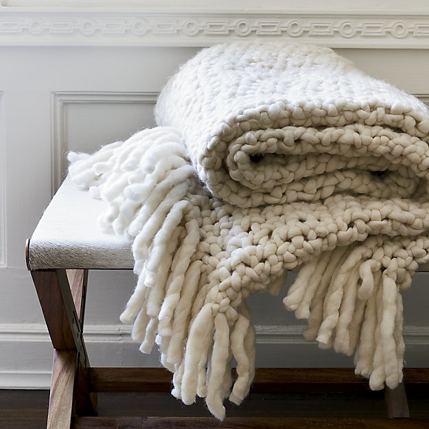 Adding blankets to your home can make the space feel welcoming and cozy.