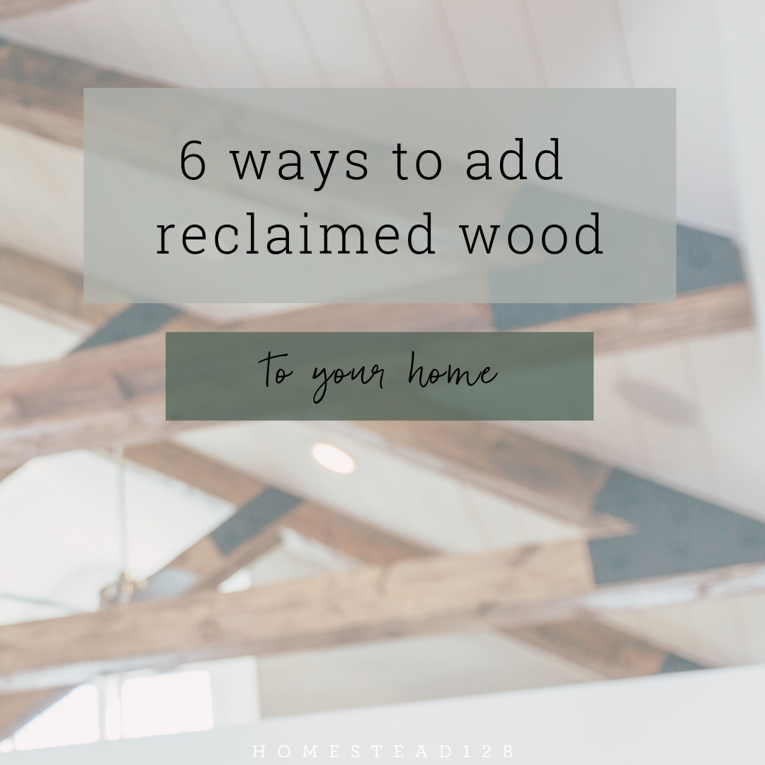 Make It Cozy With Reclaimed Wood