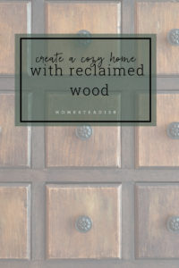 Six ways to add reclaimed wood to your home.