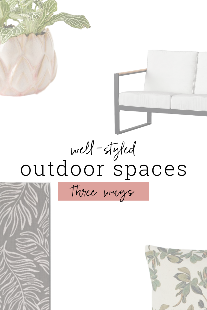 Ready to design an outdoor living space you love? Get started with these plans for three different styles!