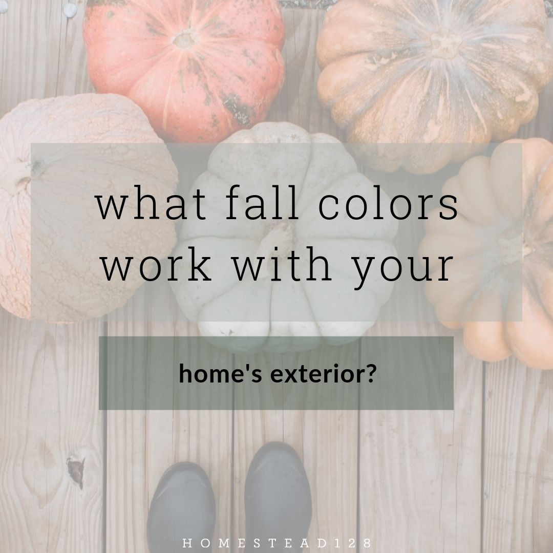 Traditional and Modern Fall Front Porch Colors
