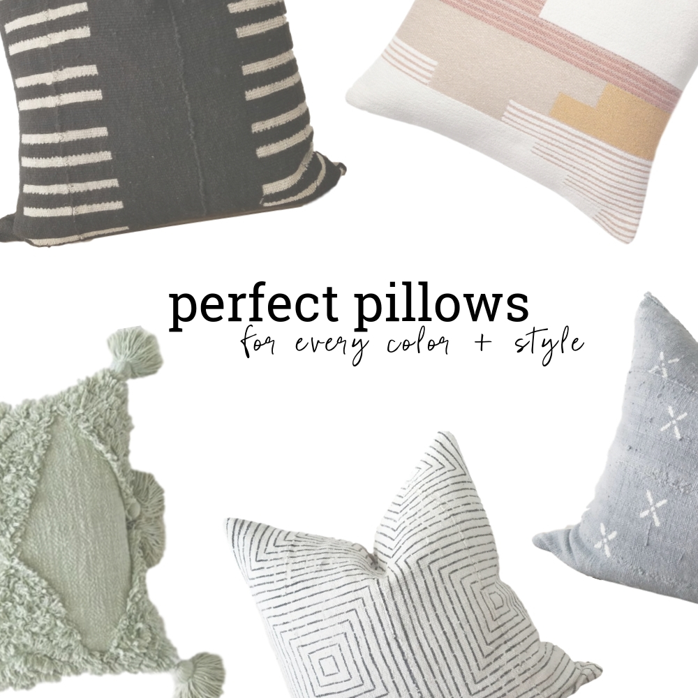 Pillows In Every Color And Style