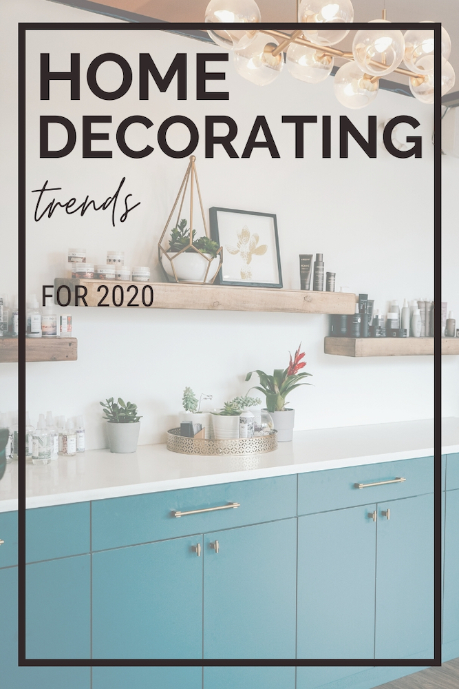 Ready to remodel or update your home in 2020? You won't want to miss this list of 5 top design trends for your home.
