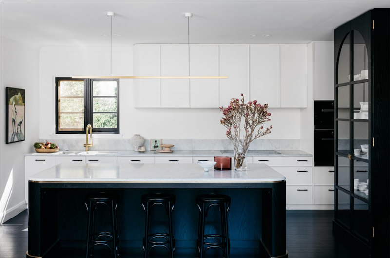 2020 Design Trends: Black and white kitchens